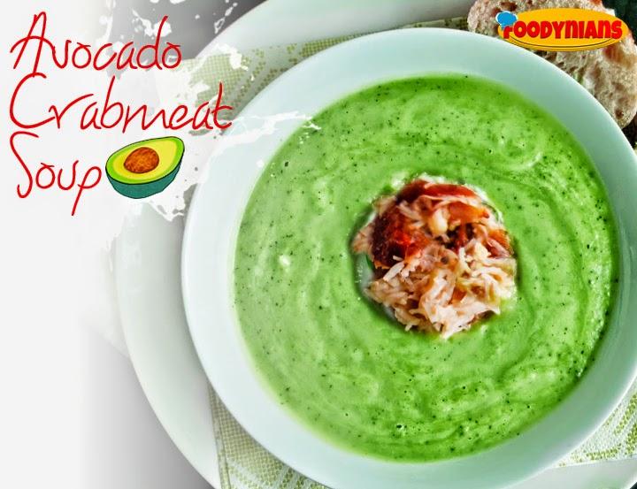 avocado-crabmeat-soup-healthy soup-recipe