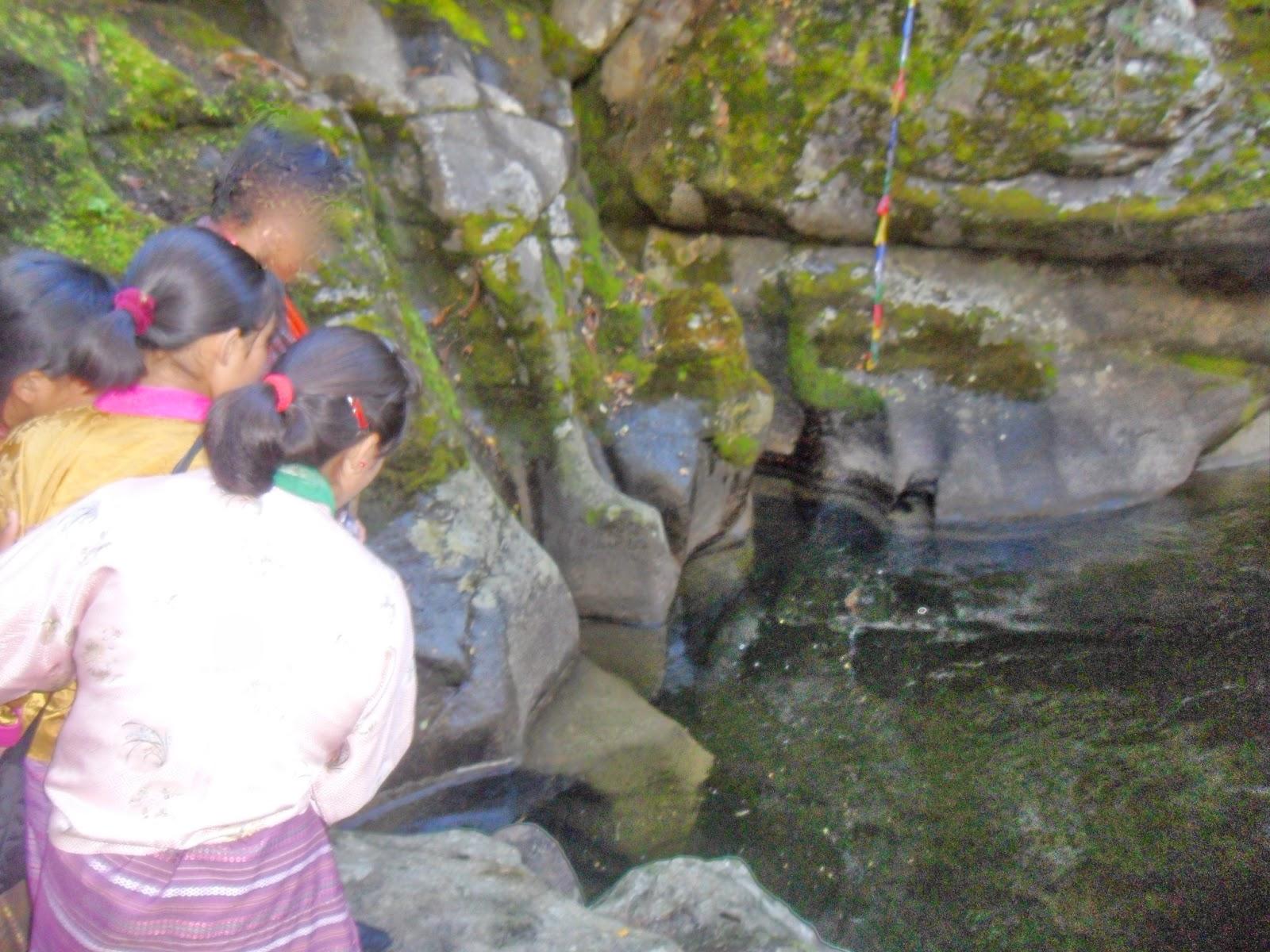 sabrina in bhutan the little mermaid in membertsho burning lake