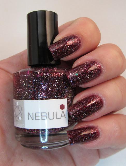 Nerd Lacquer Nebula nail polish