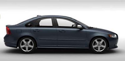 Volvo S40 Barents Blue Metallic