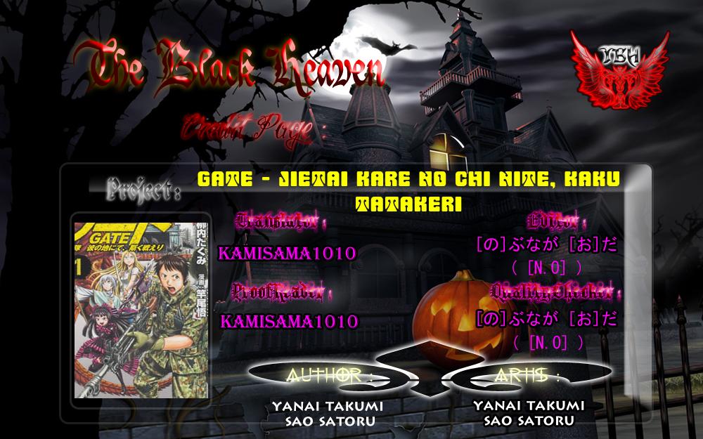 Gate – Jietai Kare no Chi nite, Kaku Tatakeri chap 12 Trang 37 - Mangak.info