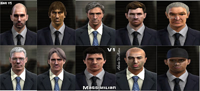 Download Mega Facepack Manager PES 2013