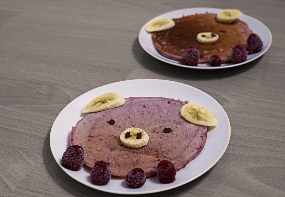 KuneCoco • Rezept: Himbeer-Pigcakes
