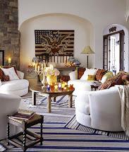Southwestern Style Home Interior Design