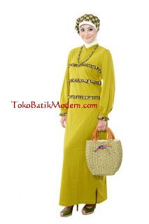 Model Gamis Batik  Muslimah Cantik Modern