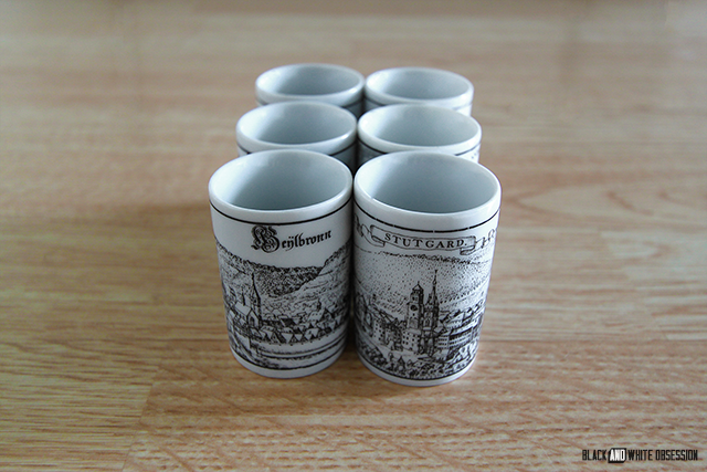#thriftscorethursday Week 31- Altenkunstadt German Shot Glass Markings | www.blackandwhiteobsession.com