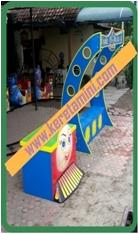 Stasiun Mainan Kereta Mini Mall
