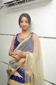 Sanjjana Latest Glam pics in saree-thumbnail-18
