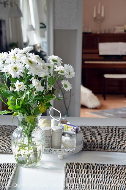 Esstisch Blumenstraus