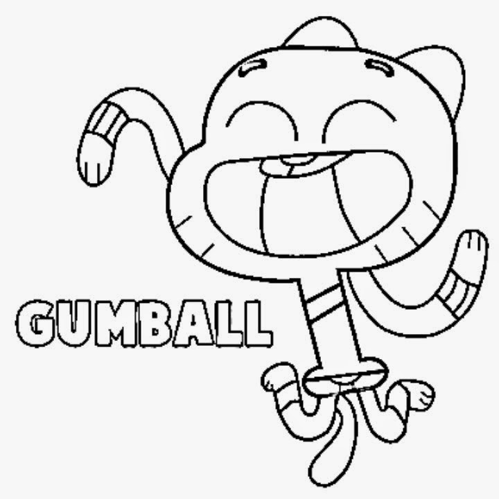 Gumball Machine Coloring Page Alltoys For