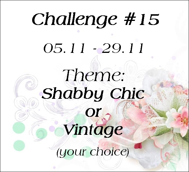 Scrap and craft scrap craft 15 challenge shabby chic for What does shabby mean