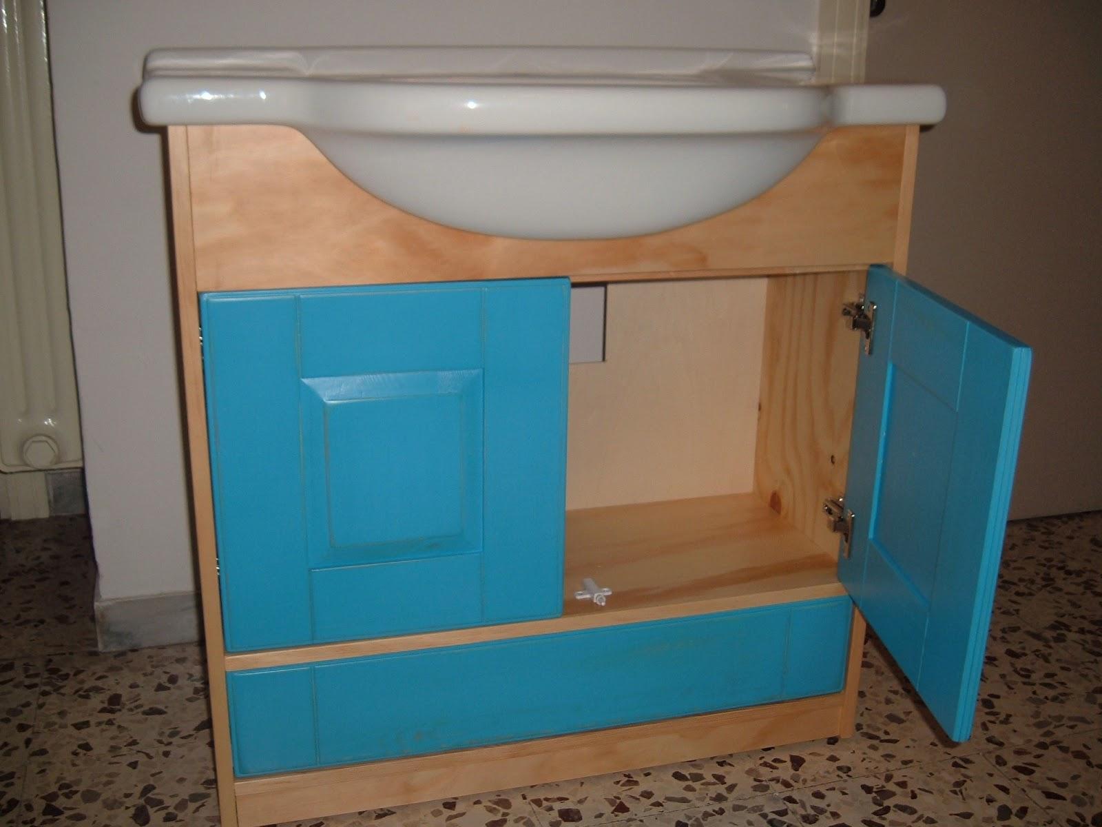 Francesco samuel catalano artigiano e restauratore mobile - Mobile bagno blu ...