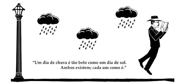 PESSOA, F. Poemas Inconjuntos in Poemas de Alberto Caeiro. Lisboa: Ática. 1946 (10ª ed. 1993). p. 91.