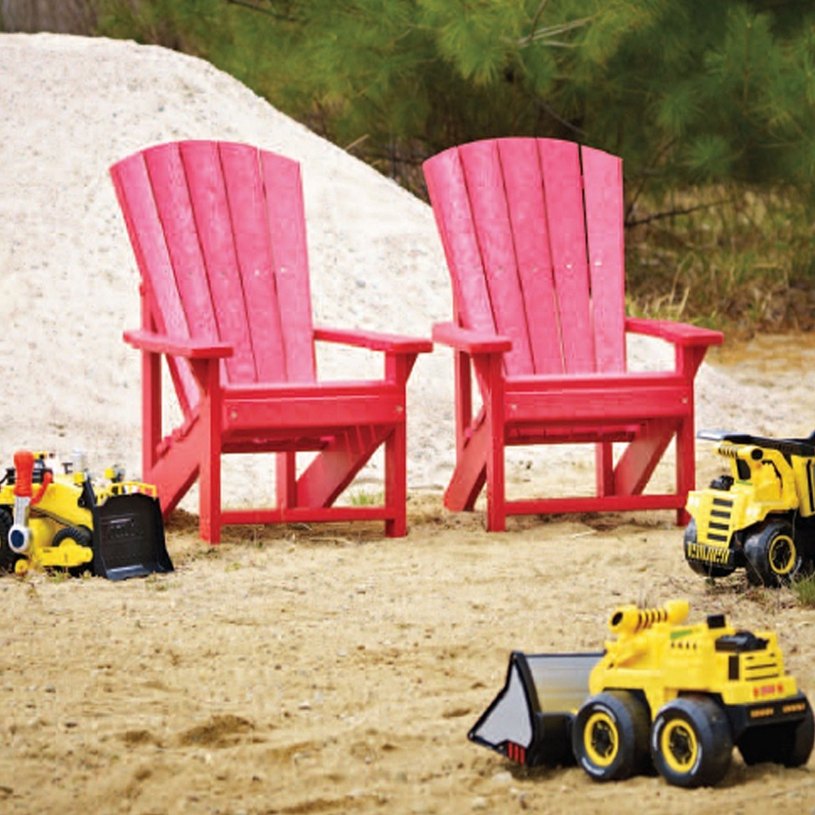Awesome Appearance Of Kids Plastic Adirondack Chairs