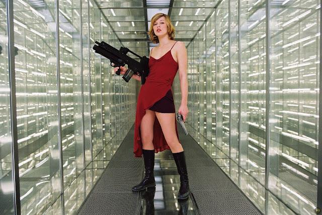 Resident Evil, Apocalipsis, Extinción, Ultratumba y Vengaza  (películas)