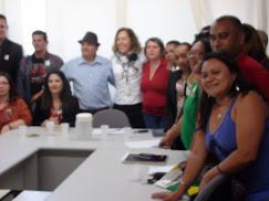 Representando o Pará na Reunião