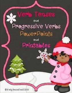 http://www.teacherspayteachers.com/Product/Verb-Tenses-and-Progressive-Verb-Tenses-1022109