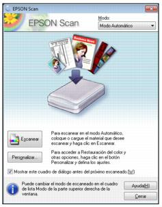 программа EPSON Scan