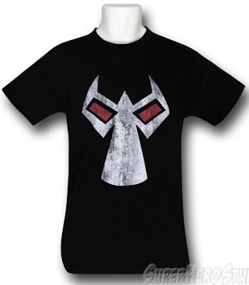 Click here to purchase Bane distress mask t-shirt at SuperHero Stuff!