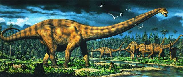 Diplodocus, dinosaurio 27 m de largo