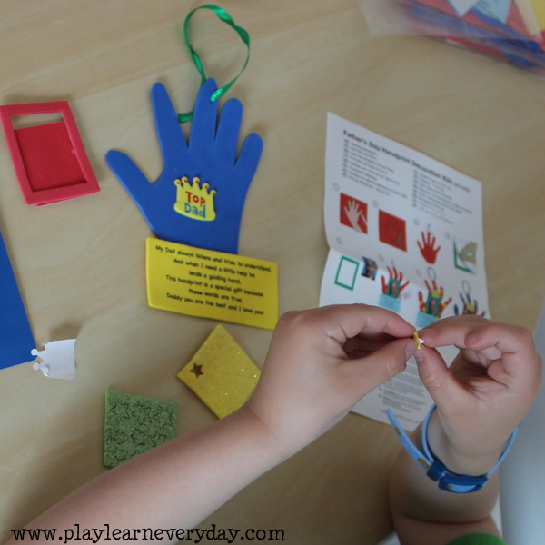 Father's Day Crafts from Baker Ross - Play and Learn Every Day