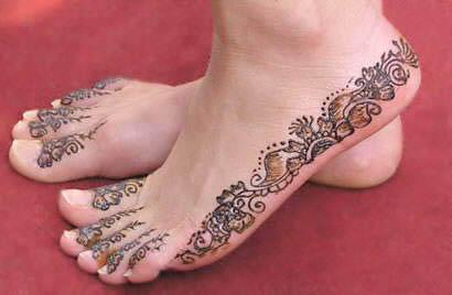 Mehndi Foot Designs : Foot mehndi designs ~ all about