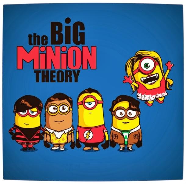 The Big Bang Theory Mashup Minions - Despicable Me