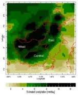 Curah hujan Kalimantan