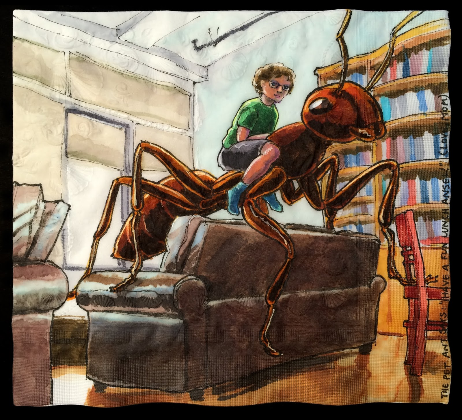 daily napkins giant pet ant