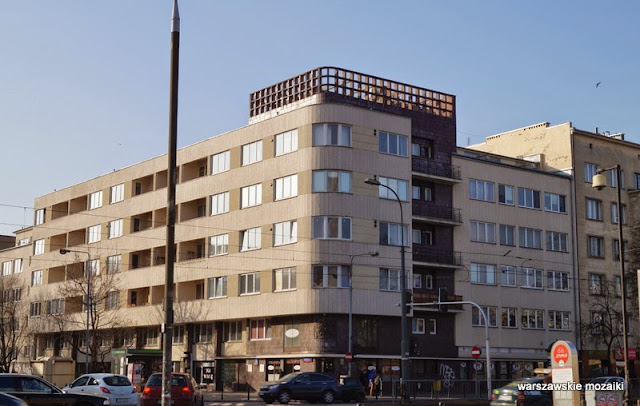 Warszawa Mokotów Wedel Puławska funkcjonalizm modernizm