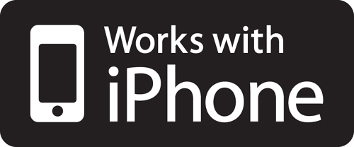 works w iphone logo