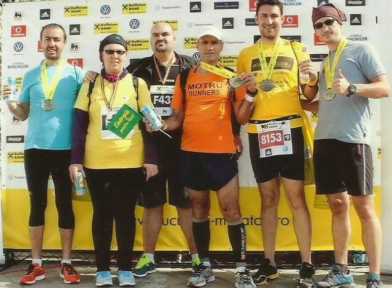 Maraton Internaţional Bucureşti 2014. Remediul împotriva răcelii. Grup 02