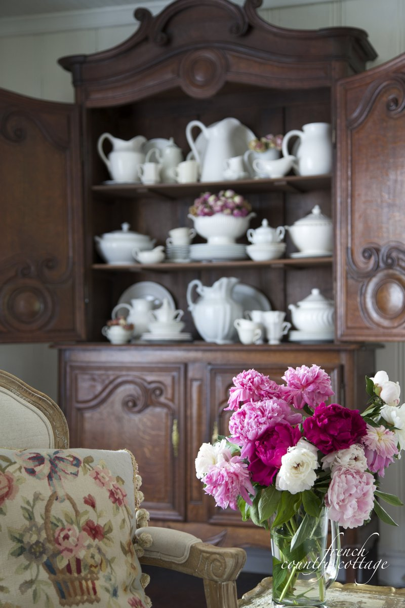 How to style shelves french country cottage bloglovin for French country blog