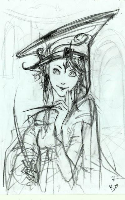 Boceto de Morgana, kaliparvati