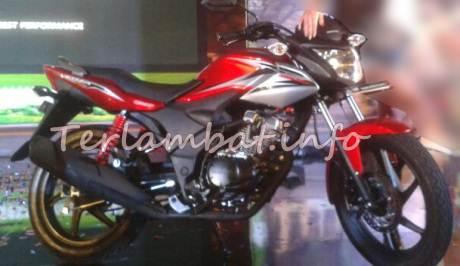 Foto Honda Verza Merah Hitam
