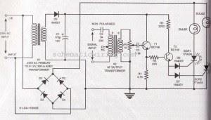 audio frequency light modulator electronic diagram wiring schemaAudio Frequency Light Modulator Circuit Schematic #6