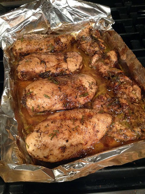 Frazgo Feasting: Balsamic Roasted Chicken Breast