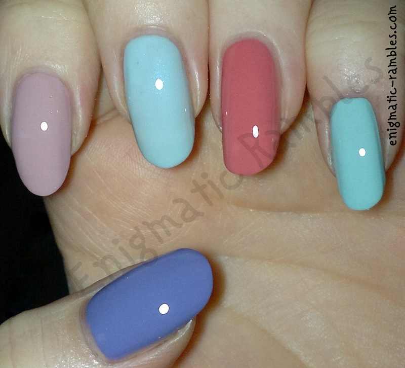Enigmatic Rambles: Nails: Top 5 Spring Polishes