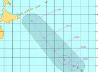 Tropischer Sturm KIROGI bildet sich doch noch bei Japan, Japan, Kirogi, aktuell, Vorhersage Forecast Prognose, Taifunsaison 2012, August, 2012, Pazifik,
