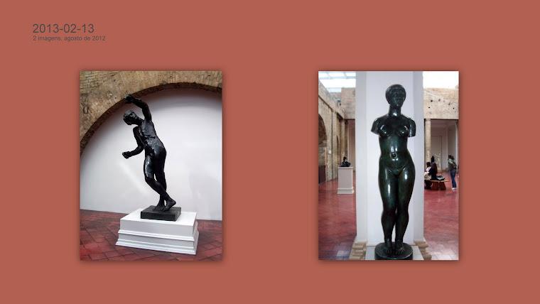 RODIN, Auguste (François Auguste René Rodin, 1840-1917) e MAILLOL, Aristide (1861-1944).