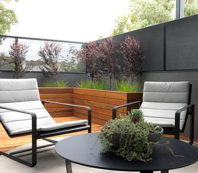 Fotos de terrazas terrazas y jardines frentes de terraza for Frentes de casas de campo