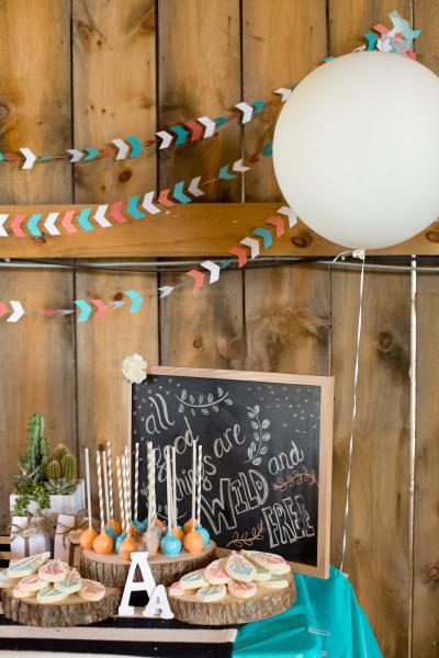 decoración cumpleaños wild