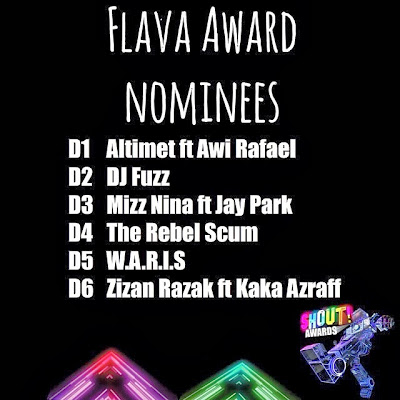 The Shout! Awards 2013 - Flava Award Nominees