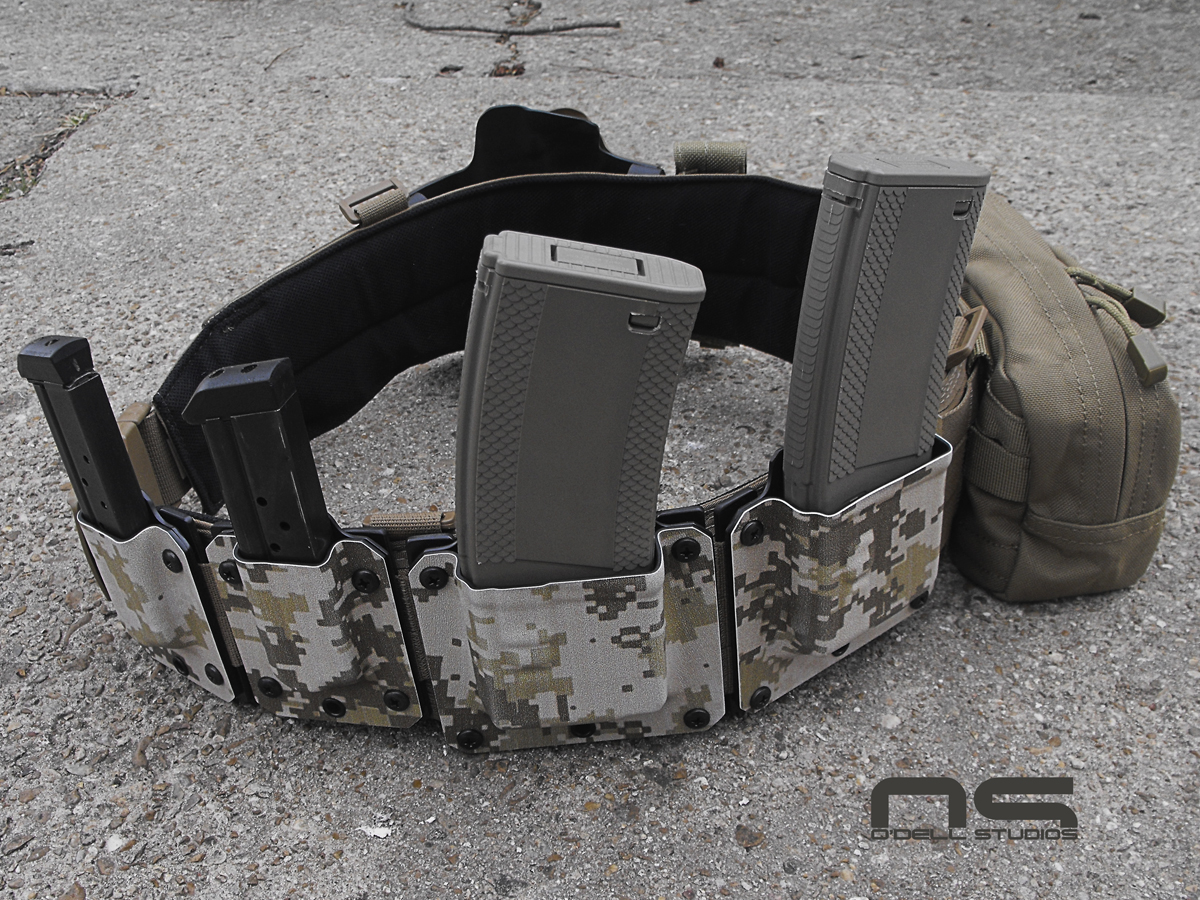 MOLLE war belt kydex pouches for sale