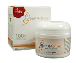 how to use breast actives cream