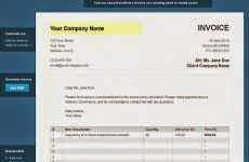 Invoiceto: permite hacer facturas en pdf online gratis