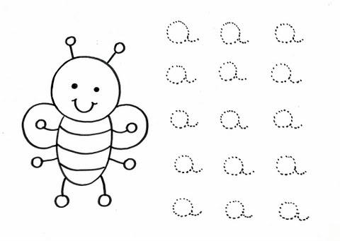 imágenes y dibujos de las vocales para trazar dibujos para repasar