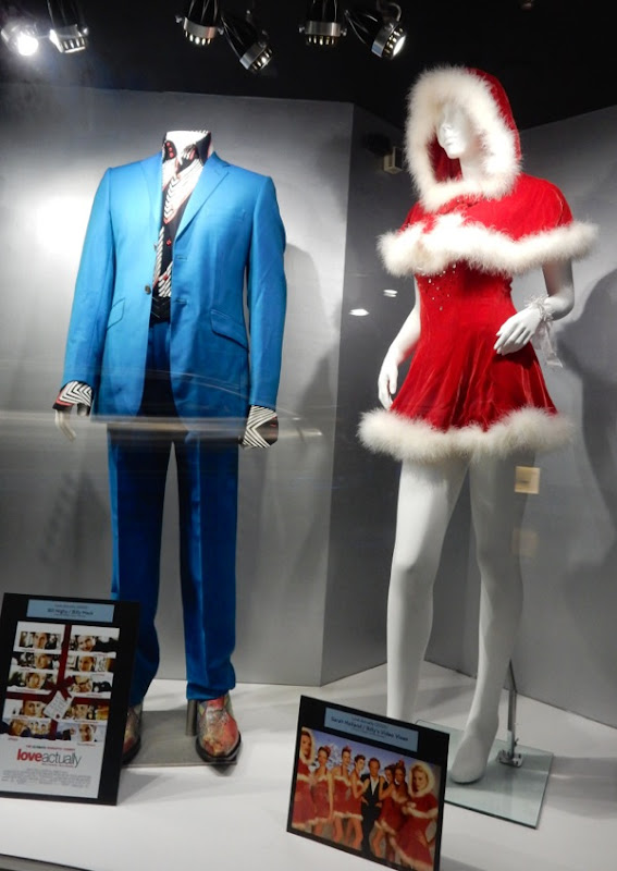 Love Actually movie costume exhibit