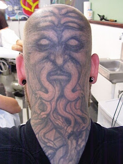 Head Tattoos | Head Tattoo Ideas | Head Tattoo Pictures