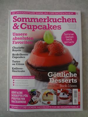 """Die Zeitschrift """"Sommerkuchen & Cupcakes"""" enthält viele leckere Sommerrezepte."""